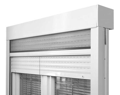 Rolladen mit oder ohne Insektenschutz, PVC oder ALU, Roll shutters, Insect protection