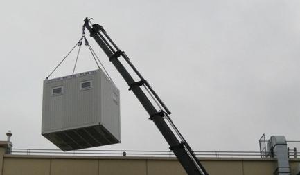 Containerlieferung