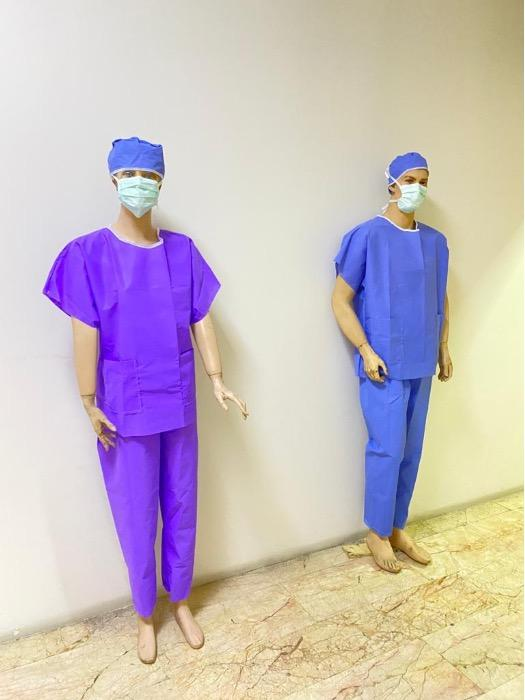doctor nurse disposable uniform
