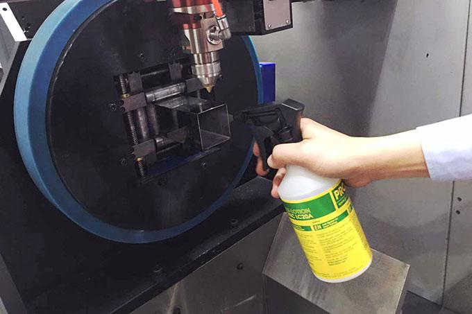 PROTEC LC20A in laser-cutting processes
