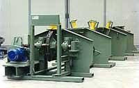 Binding machine for bending beams
