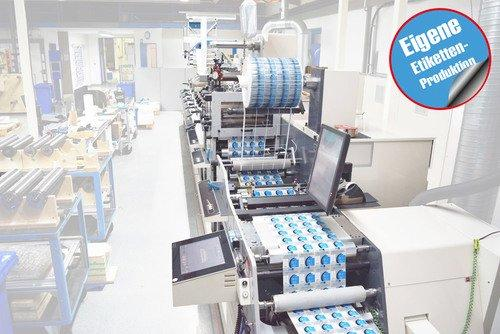 Eigene Etikettenproduktion