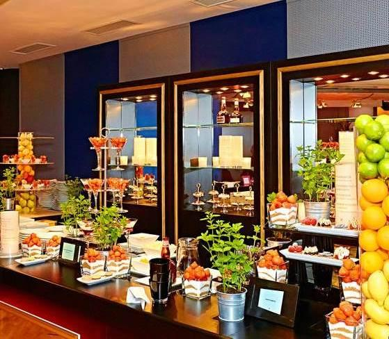 Catering Aufbau Studio 44 Eventlocation Wien.