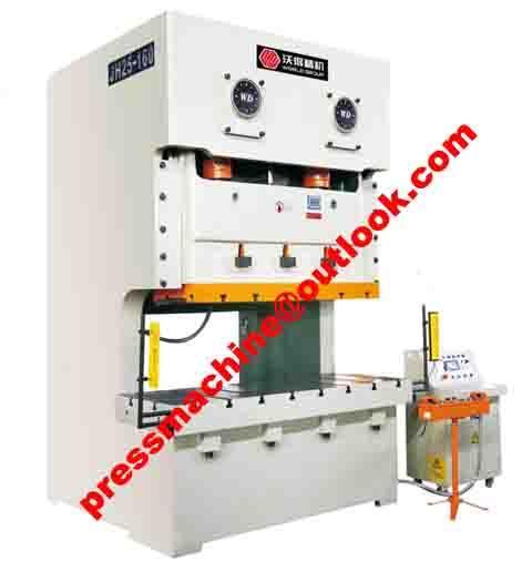 c frame double cranks press machine