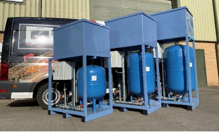 Water Pressurisation Systems