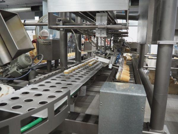 Modern equipment from Czech Republic, Japan, USA, China allows to produce up to 20 tons of ice-cream per our