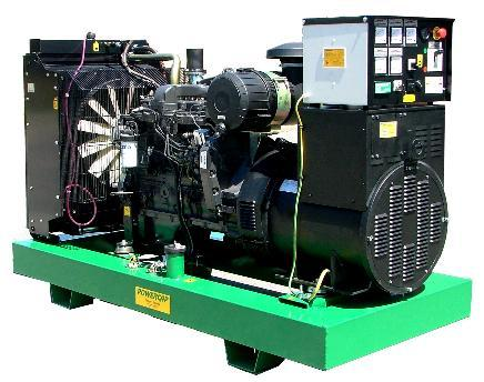 Open type Generating Set from 10 kVA up to 1125 KVA