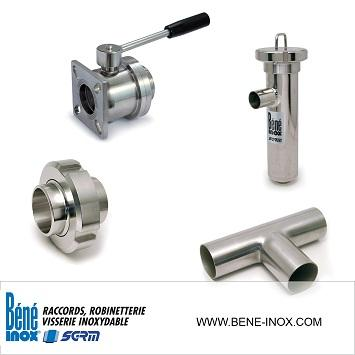 Composants inox Norme DIN - Stainless steel components DIN standard