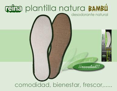 REINA Plantilla Natura Bambú