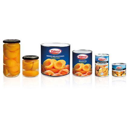 Conservas de frutas y mermeladas
