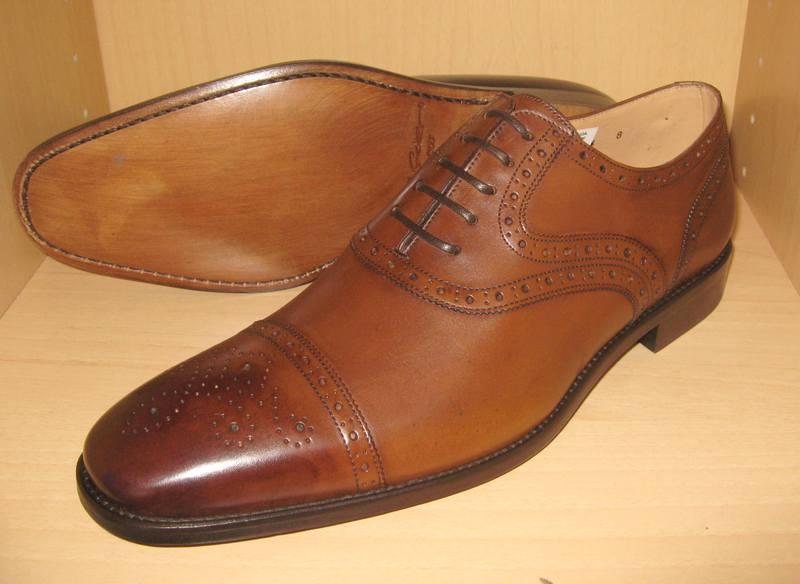 Leather Upper leather sole