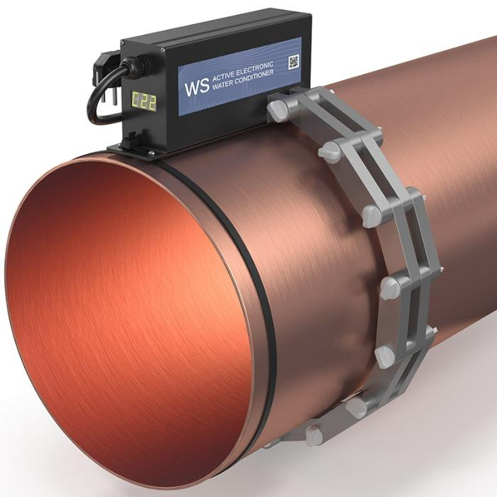 """WS water conditioner for pipe 22"""" (d.550 mm)"""