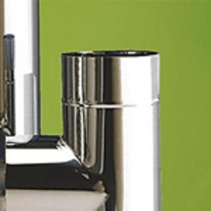 Profondeur de gamme pour tous les générateurs Gamme compatible avec les cheminées double paroi isolées ou le tubage Pièces sur mesure