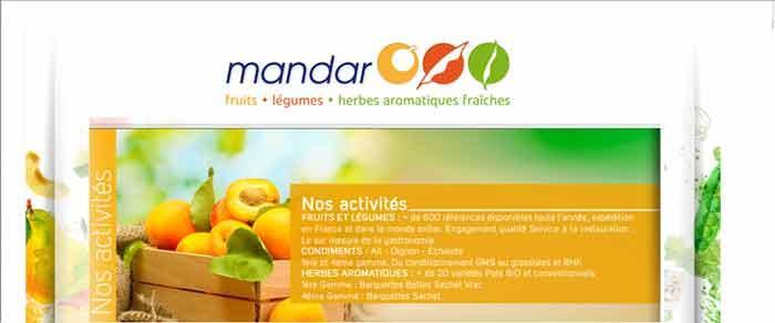 GROUPE MANDAR : SPECIALISTE  FRUITS ET LEGUMES ET HERBES AROMATIQUES FRAICHES. VENTE EN GROS  DE FRUITS ET LEGUMES RUNGIS, VENTE EN GROS HERBES AROMATIQUES RUNGIS. MANDAR : FRUITS ET LEGUMES RUNGIS.