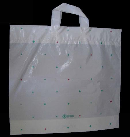 LDPE and HDPE Loop handle bag / Full colour print as you want