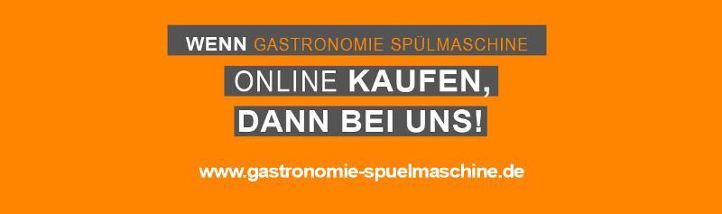 Wenn Gastronomie Spülmaschinen online kaufen, dann bei uns