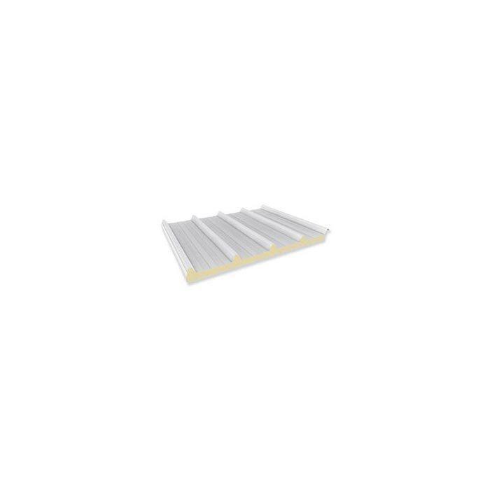 Pannello da copertura autoportante con isolante in schiuma poliuretanica, destinato a coperture di edifici industriali, commerciali e civili.