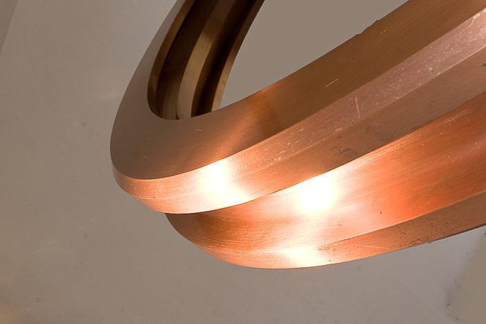 Casting wheels in copper alloys