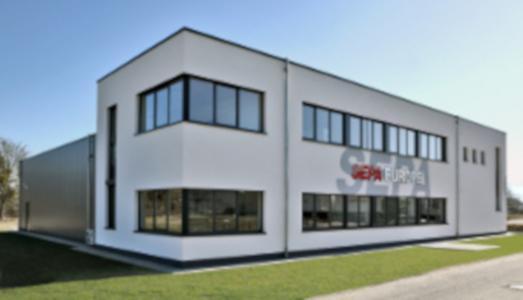 SEPA EUROPE Firmengebäude