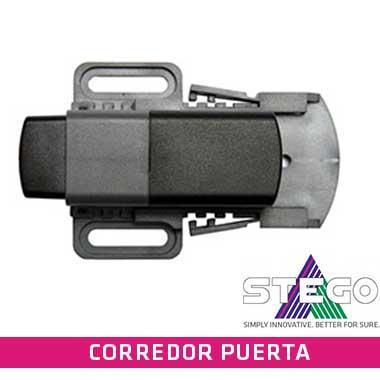 El interruptor de contacto de puerta controla la posición de las puertas de las envolventes y está disponible en tres versiones.