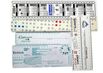Las reglas y artículos de medición son ideas sencillas y muy prácticas en cualquier acción publicitaria. Fabricadas en PVC, polipropileno y PVC.