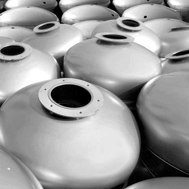 Metalpress spa Fondi bombati