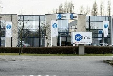 Our head office at Aartselaar with a sign of best place to work in Belgium