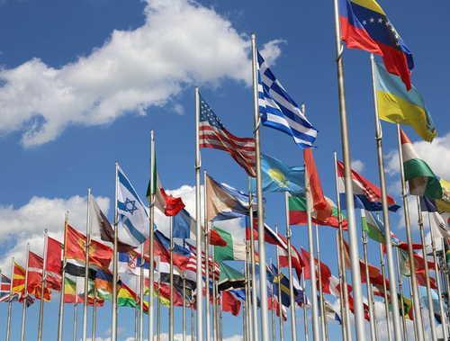 Nationenfahnen