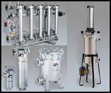 Filtración de líquidos y procesos en industrias minerometalúrgicas, almentarias, de pinturas, tratamiento de aguas, petroquímicas,...