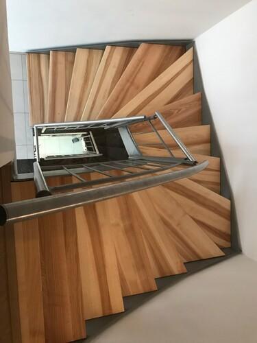 Treppenstufen Kernesche