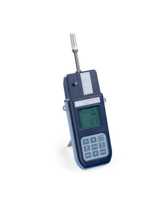 Analizzatore portatile e Datalogger per la misura della Qualità dell'aria per interni con misura della CO2 (anidride carbonica), temperatura, umidità, presione barometrica, CO