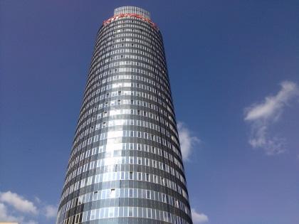Bürokomplex, in dem sich die Towerbyte eG mit igniti, Intershop und weitere Unternehmen befinden.