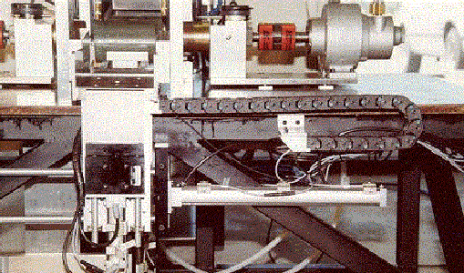 In our factory we inject since 1958 and produce a complete cable chain line for the last 30 years