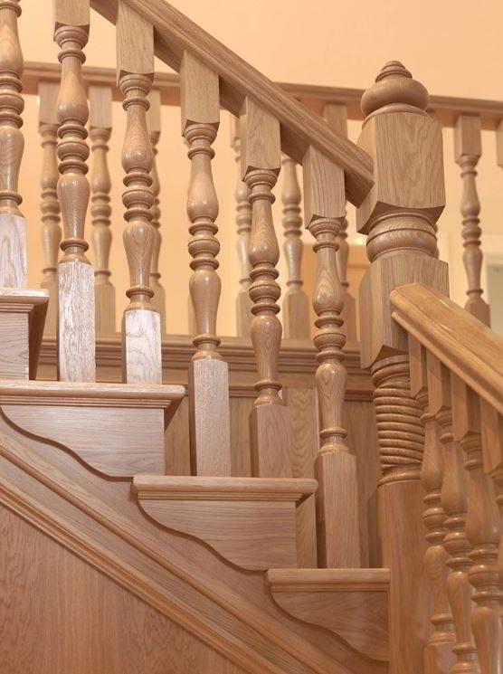 Pine Wooden Baluster