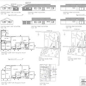 2D drafting -Converting Garage into habitable space