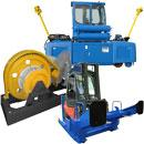 Railcar moving equipment