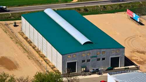 Vista aérea de nuestra nueva factoría