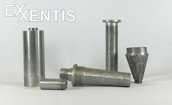 Produkte aus porösem Aluminium in jeder Form und Grösse nach Mass.