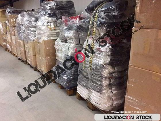 Liquidacion de partidas, lotes y excedentes, contenedores y paletas de ropa, juguetes, muebles, herramientas, cosmética, bazar, maquinaria industrial, electrodomésticos, menaje, vajilla.