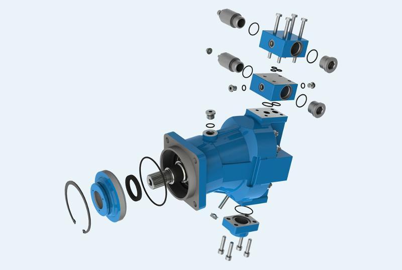 Rexroth Type Pumps & Motors