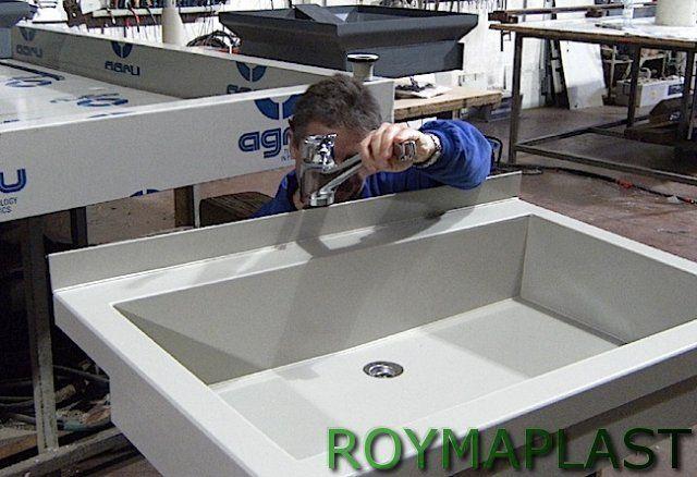 Lavabo de polipropileno
