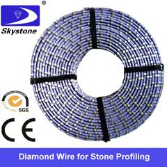diamond wire for stone profiling