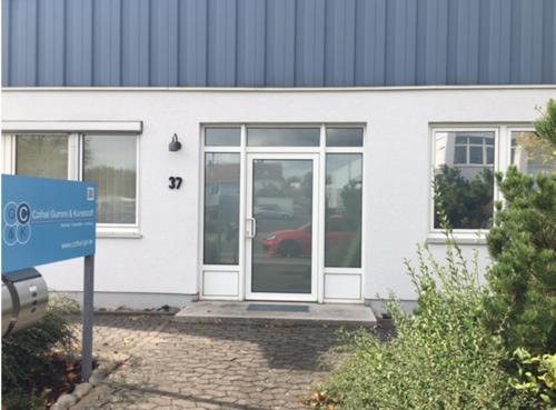 Eingang Büro/Verwaltung