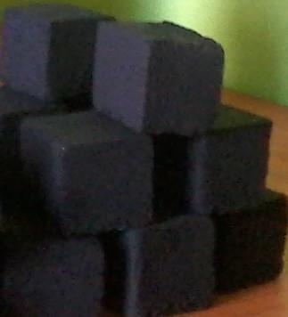 Bricket and sisha coal