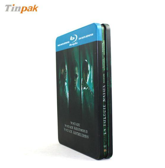3pcs metal tin box for DVD