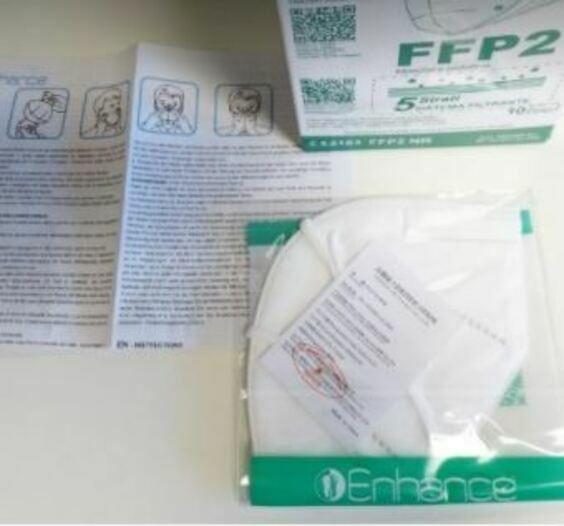 (FFP) Masken (FFP2, CE-Kennzeichnung, Einzeln verpackt)
