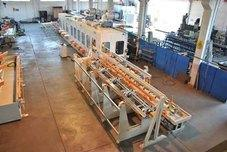 Grinding and polishing line Mod. SF for round tubes