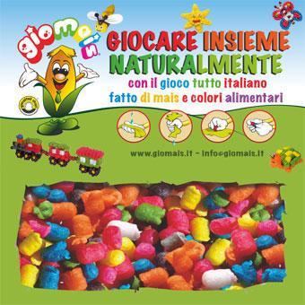 Per costruire, colorare e decorare in modo naturale e sicuro, senza colla, solo con acqua.