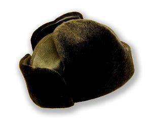 Russian hat with ear-flaps