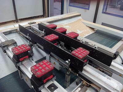 Vacuum-cnc pads